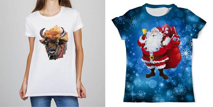Женские футболки на год Быка