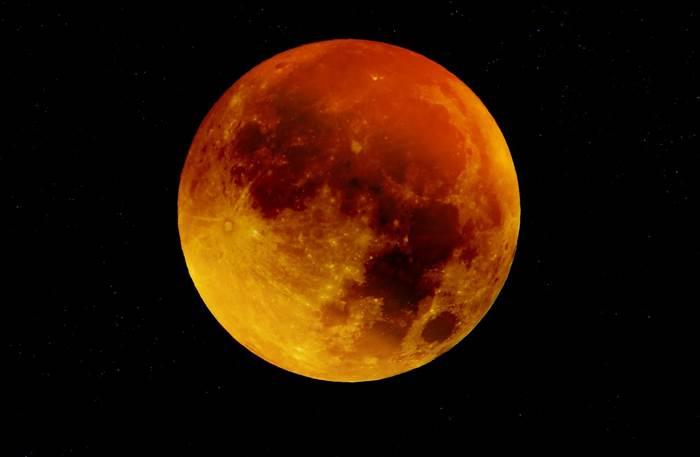 Кровавая Луна фото