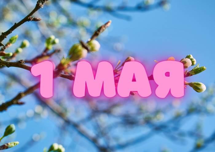 Праздник 1 мая поздравление