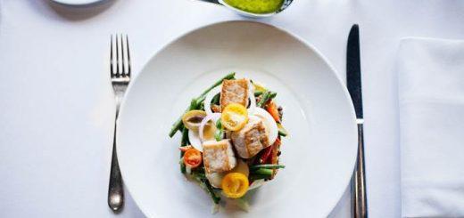 Вкусный салат красивое фото