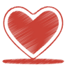 Иконка сердечка любовь