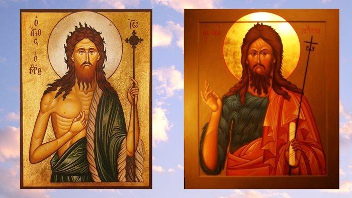 Иоанн Предтеча иконы