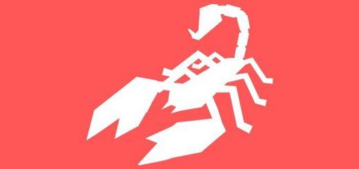 Скорпион знак зодиака картинка